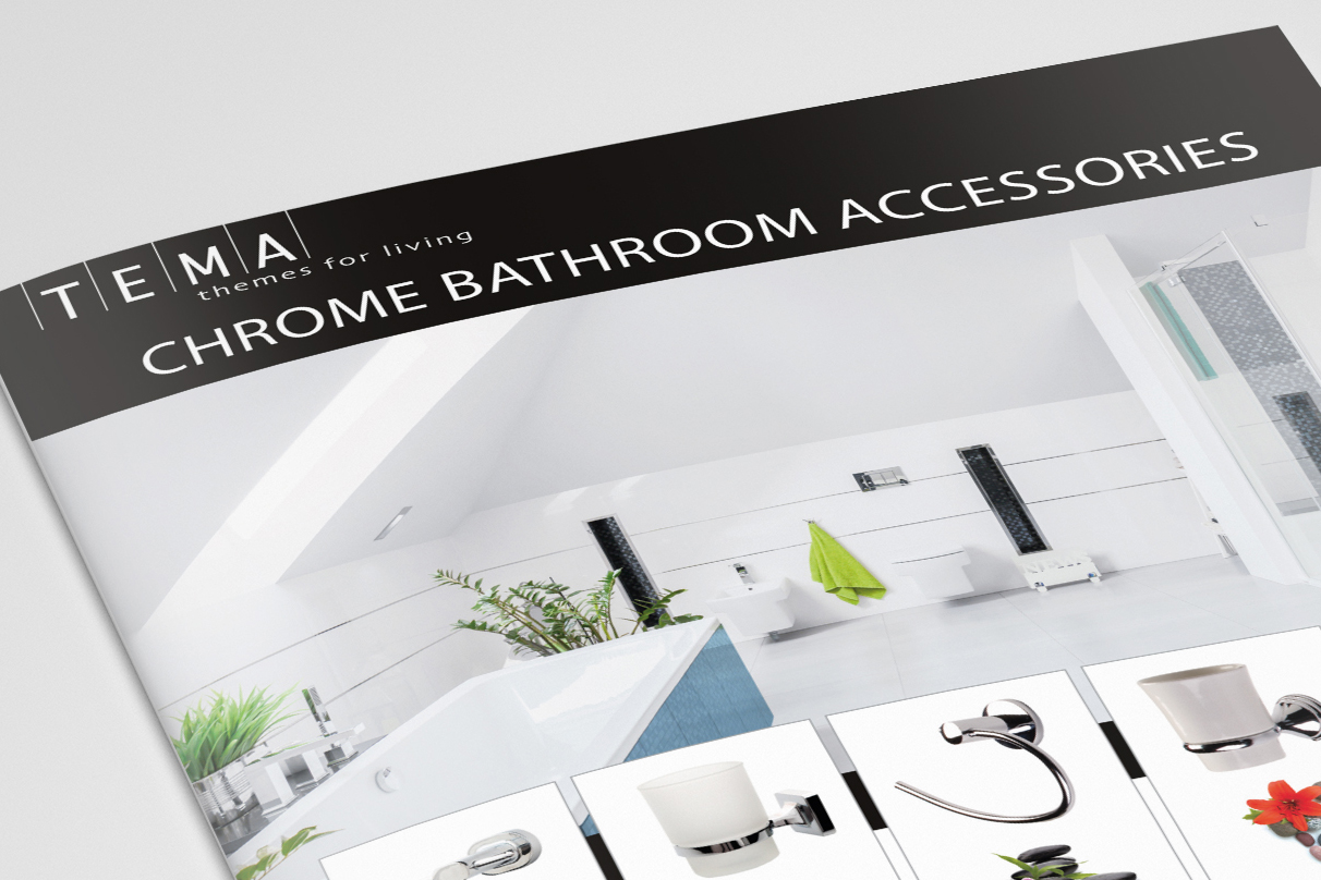 Download the Tema Chrome Bathroom Accessories Brochure