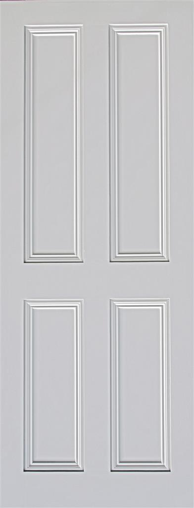 ARDMORE 4 PANEL PRIMED DOOR 78X26X44mm