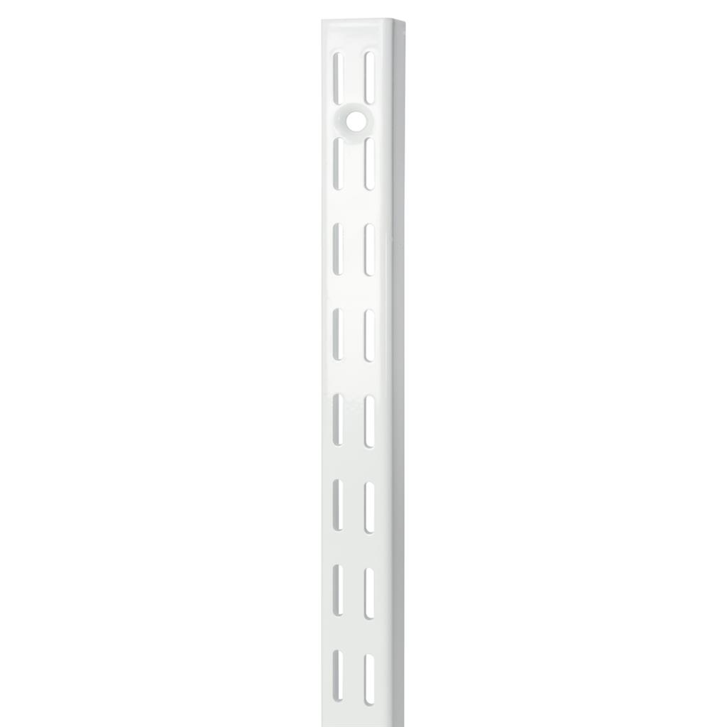 B ORG TWIN SLOT H-UPRIGHT 160cm WHITE X 10 pcs
