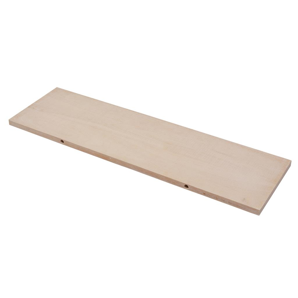 B ORG RECT SHELF 80X23.5CM KNOTTY OAK x 3pcs