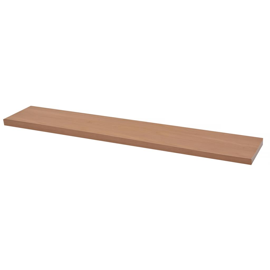 DURALINE FLOAT SHELF 118X23.5CM KNOTTY OAK x 3pcs