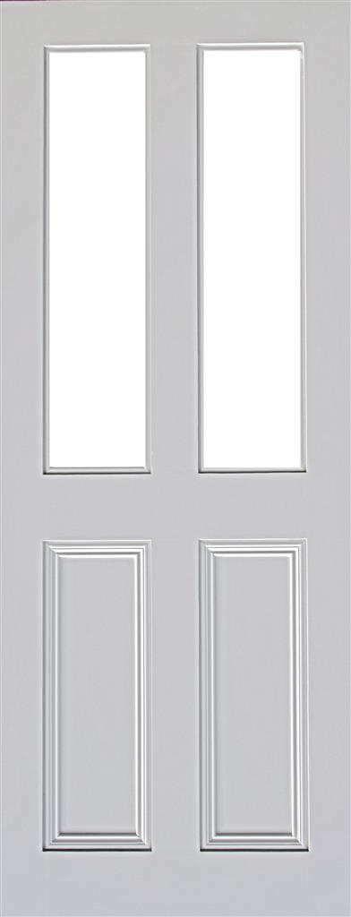 CLAREMONT 2P/2L PRIMED RTG DOOR 78X30X44mm