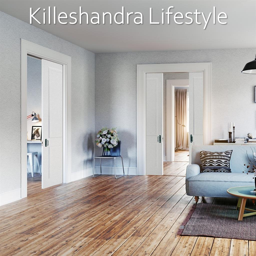 Indoors White Primed Doors Lifestyle Imagery