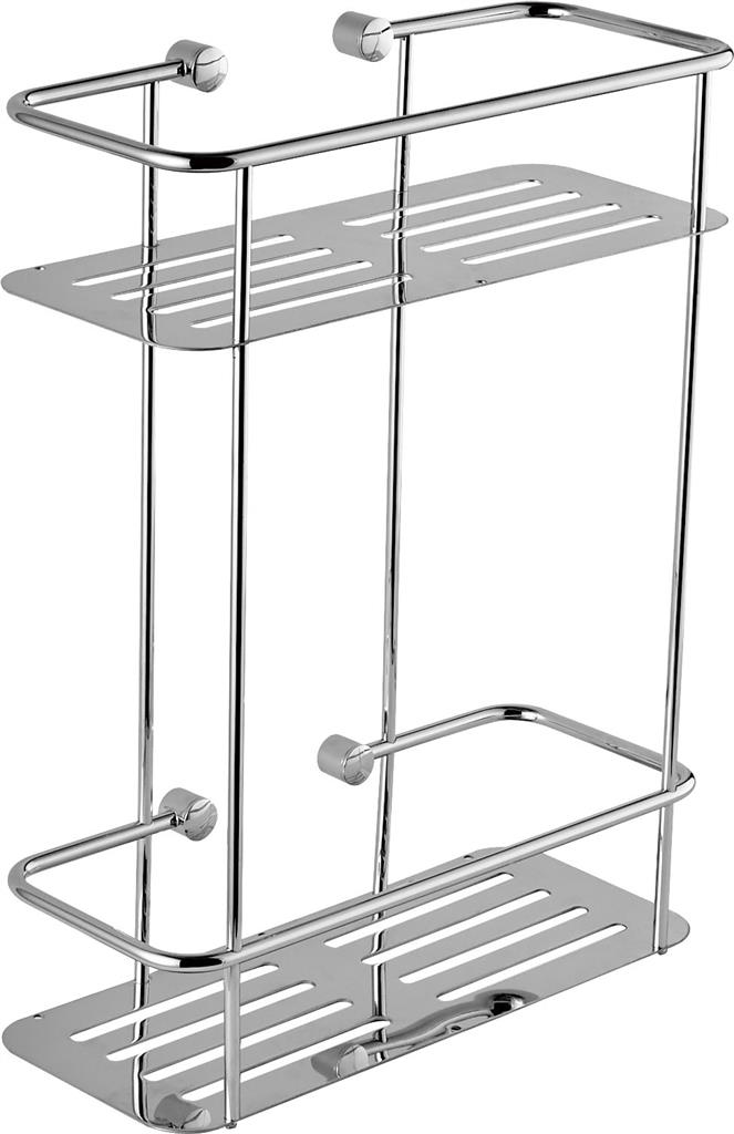 TEMA PREMIUM DOUBLE RECTANGLE SHOWER BASKET