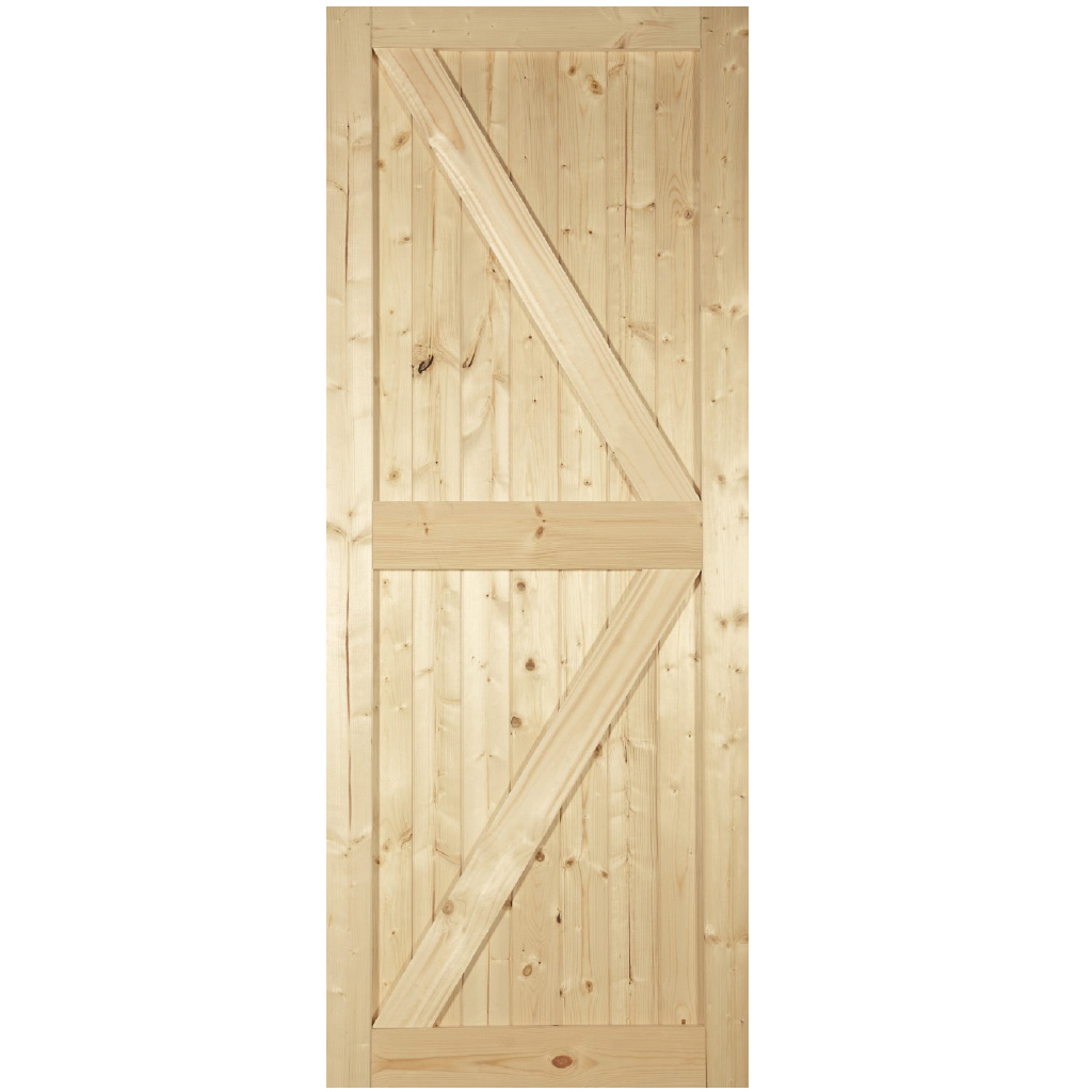 CAMDEN FRAMED LEDGED & BRACED DOOR 44mm 78X30