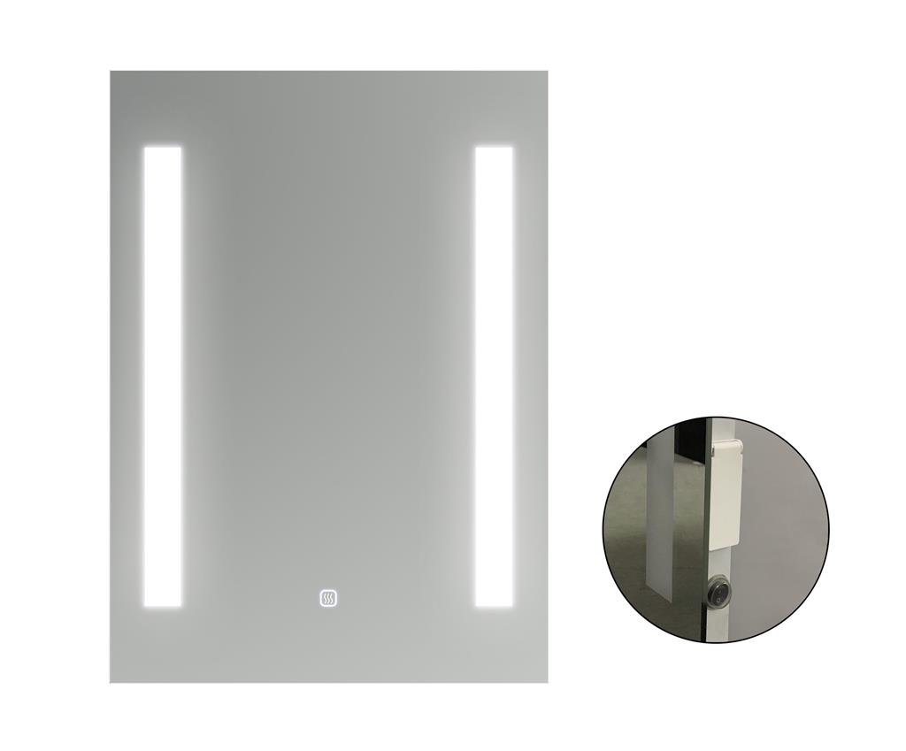 TEMA MEDICI IP44 LED MIRROR 70X50 w SOCKET DEMIST