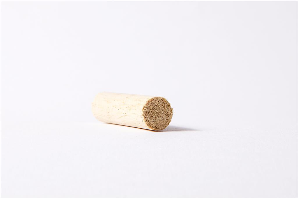 A - LIGHT HARDWOOD DOWEL 1/4 IN 6MMx2.4Mx50 LGTHS