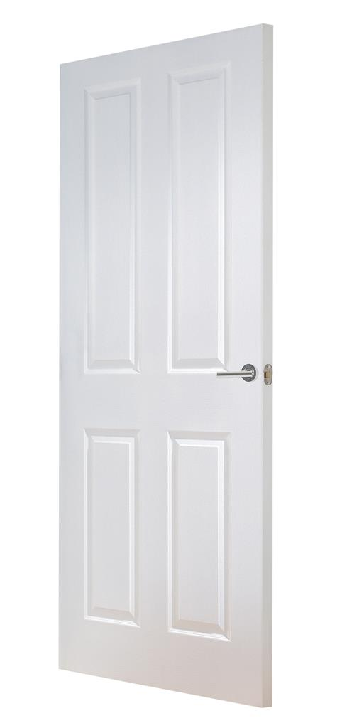SHANNON MOULDED 4 PANEL SMOOTH DOOR 78 x 26 X 44MM