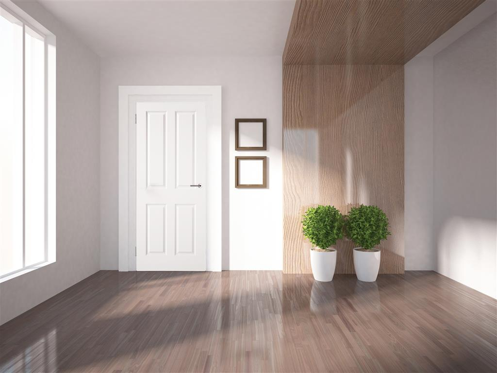 SHANNON MOULDED 4 PANEL SMOOTH DOOR 80 x 32 X 44MM