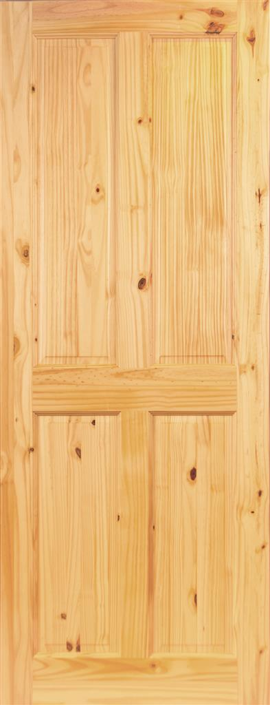 MILFORD PREFINISHED 4P PINE DOOR 78X24X44mm