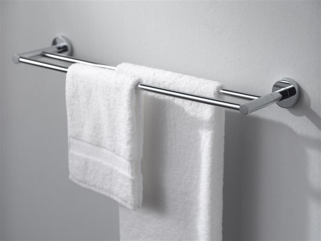 N252901 KOSMOS DOUBLE TOWEL RAIL 60CMS