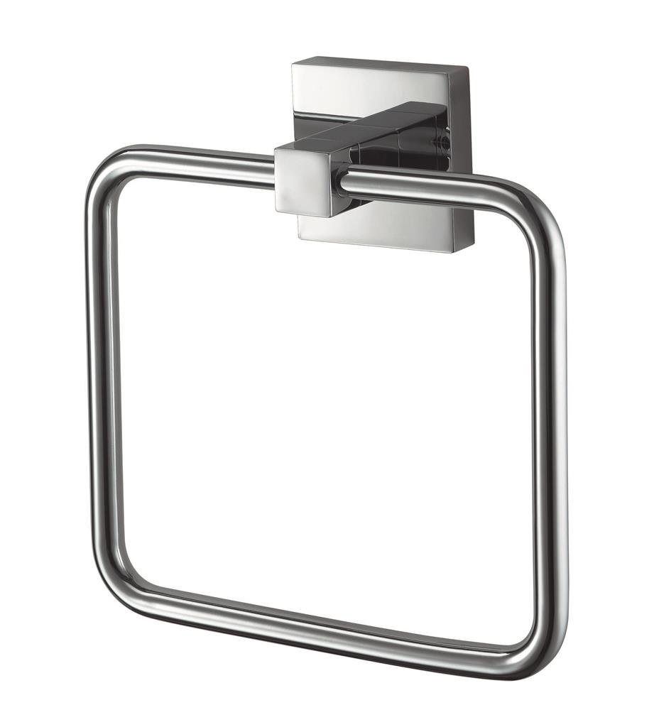 N280601 MEZZO TOWEL RING CHROME