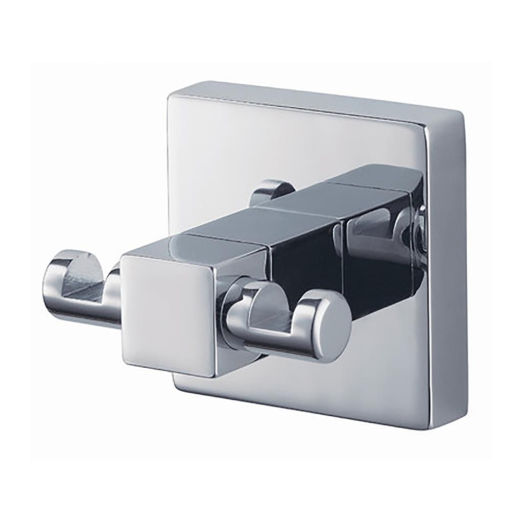 N281801 MEZZO DOUBLE ROBE HOOK CHROME