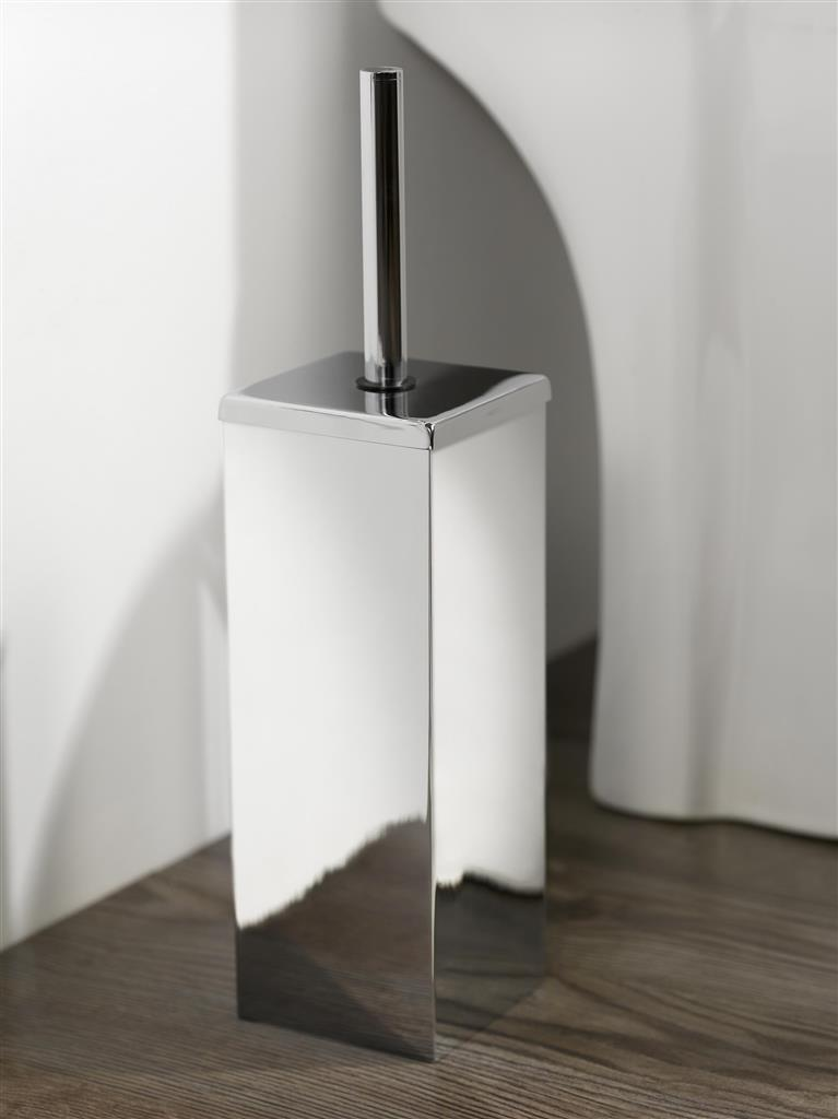 N282001 MEZZO METAL TOILET BRUSH & HOLDER
