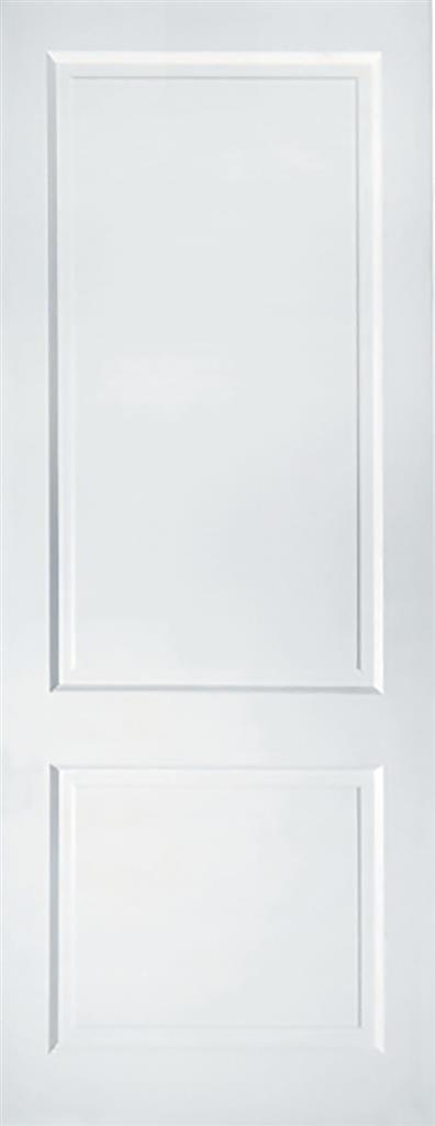 PRIMED AUBURN SOLID WHITE 78 X 30 X 44mm 2 PANEL