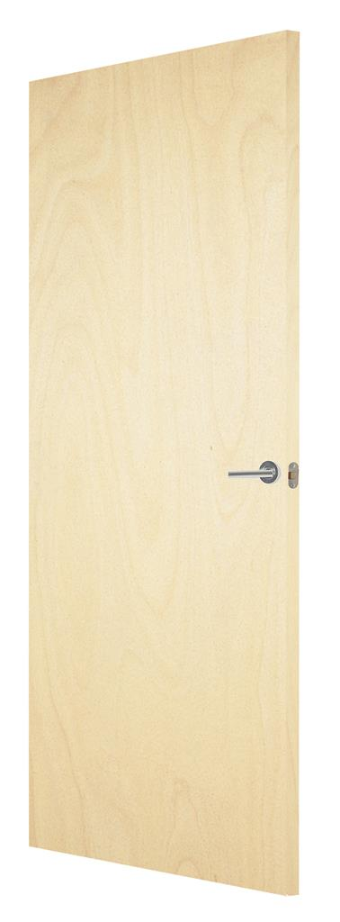 POPULAR FD30 FIRESHIELD PAINT GRADE DOOR 78 X 26