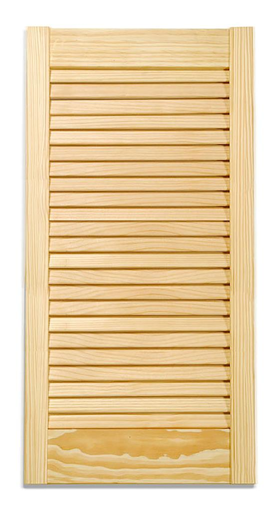 PINE LOUVRE DOOR 66X21 INCHES