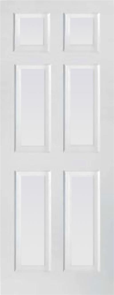 TORONTO 6 PANEL PRIMED DOOR 78X30X44MM