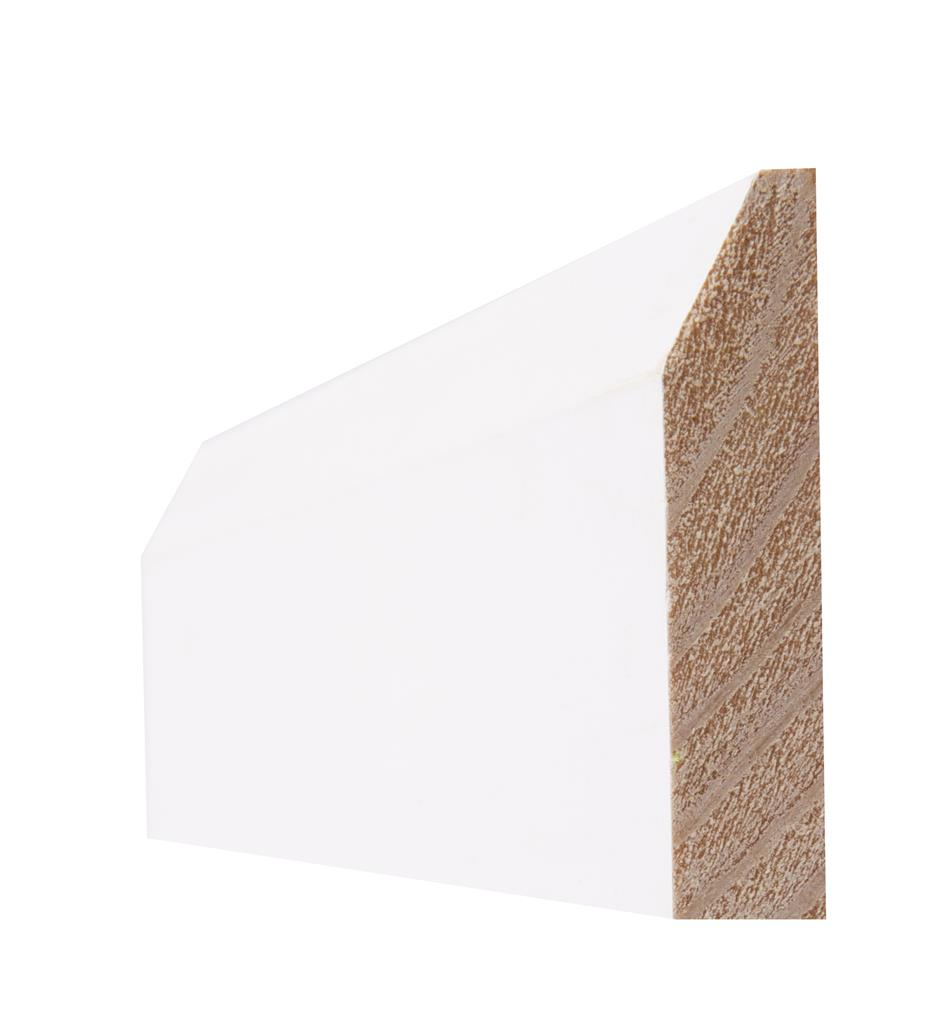 PRIMED 4 IN CHAMFERED ARCHITRAVE 19X94X2.25M(5PCS)