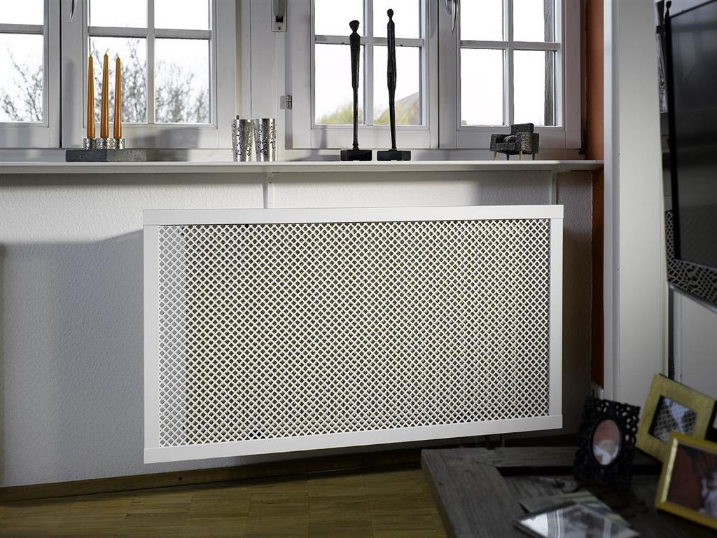 SCREENING PANEL 1810X610 MDF WHITE DIAMOND