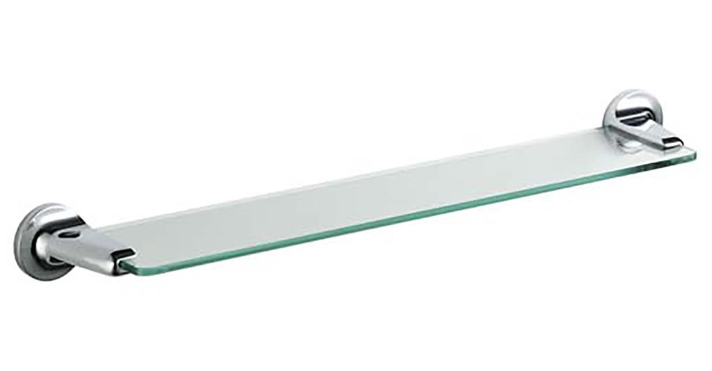 TEMA ARNO GLASS SHELF CHROME