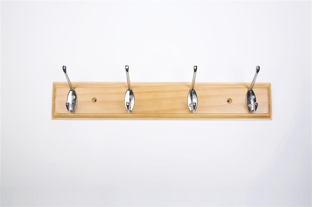 TEMA COAT HOOK 4 PIN ANTIQUE PINE