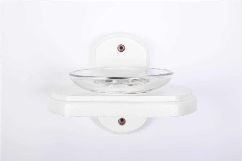 TEMA SOAP DISH WHITE