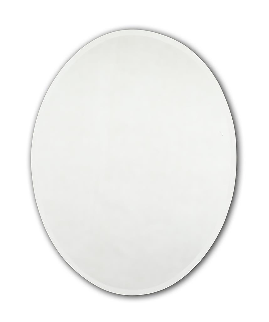 TEMA ENSUITE BEVELLED MIRROR 50X40 OVAL