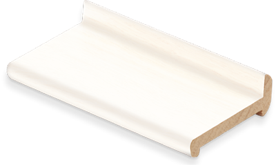 WHITE PRIMED T-REBATE MOULDING 2.1M X 5 LENGTHS