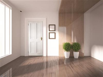 ARDMORE 4 PANEL PRIMED DOOR 78X33X44mm