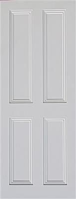 ARDMORE 4 PANEL PRIMED DOOR 78X30X44mm