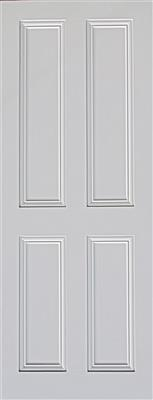 ARDMORE 4 PANEL PRIMED DOOR 80X32X44mm