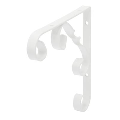 B ORG ORNAMENTAL BRACKET 15x15cm WHITE X 10 pcs