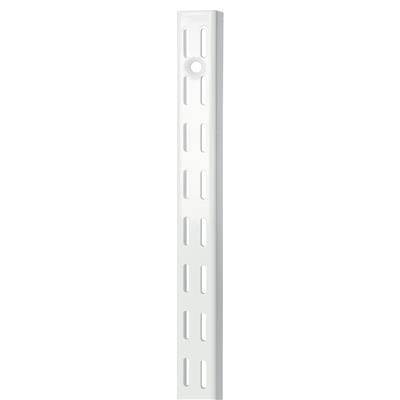 B ORG TWIN SLOT H-UPRIGHT 122cm WHITE X 10 pcs