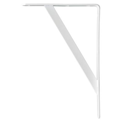B ORG INDUSTRIAL BRACKET 20x30cm WHITE X 6 pcs