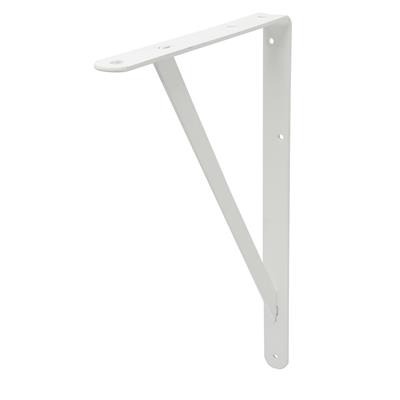 B ORG INDUSTRIAL BRACKET 25x40cm WHITE X 6 pcs