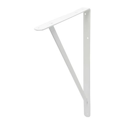 B ORG INDUSTRIAL BRACKET 33x50cm WHITE X 6 pcs