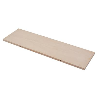 B ORG RECT SHELF 60X20CM KNOTTY OAK x 3pcs