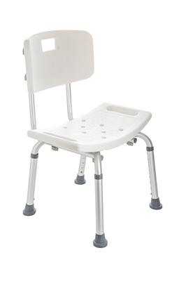 LIVING PLUS BATH/SHOWER CHAIR BACK HEIGHT ADJUST
