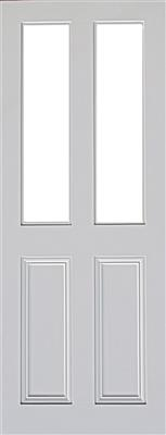 CLAREMONT 2P/2L PRIMED RTG DOOR 80X32X44mm
