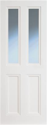 CLAREMONT PRIMED DOOR BEVELLLED GLAZED 78X28