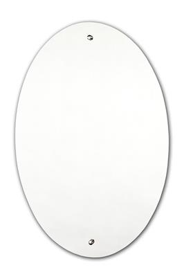TEMA SUREFIX PRE-DRILLED MIRROR OVAL 60 x 40