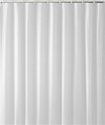 EUROSHOWERS CURTAIN WHITE DIAMOND 180X200 POLYBAG