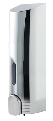 EUROSHOWERS TALL CHROME SINGLE DISPENSER