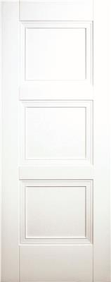FRANKLIN WHITE PRIMED 3 PANEL DOOR 80X34X42mm
