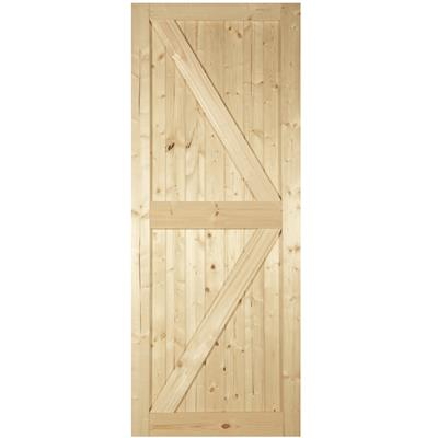 CAMDEN FRAMED LEDGED & BRACED DOOR 44mm 80X32