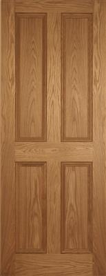 BELVILLE PF OAK 4 PANEL HERITAGE DOOR 80X34