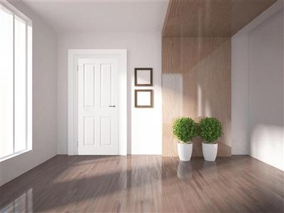 SHANNON MOULDED 4 PANEL SMOOTH DOOR 78 x 30 X 44MM