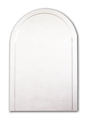 TEMA STYLE MIRROR ARCHED 55X40 CUT DESIGN