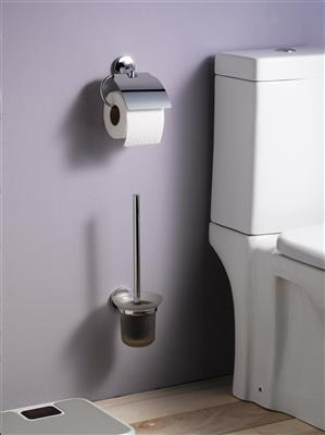 N411301 ASPEN TOILET ROLL HOLDER WITH LID